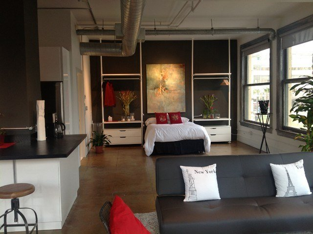 Best Art In Situ Industrial Bedroom San Francisco By With Pictures