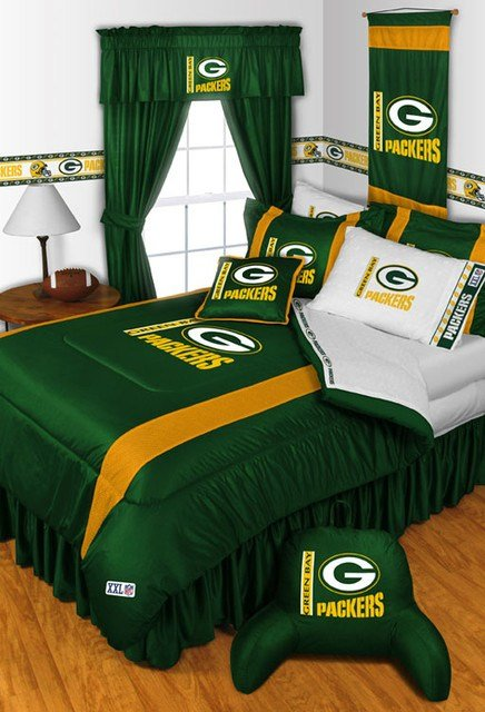 Best Nfl Green Bay Packers Bedding And Room Decorations With Pictures