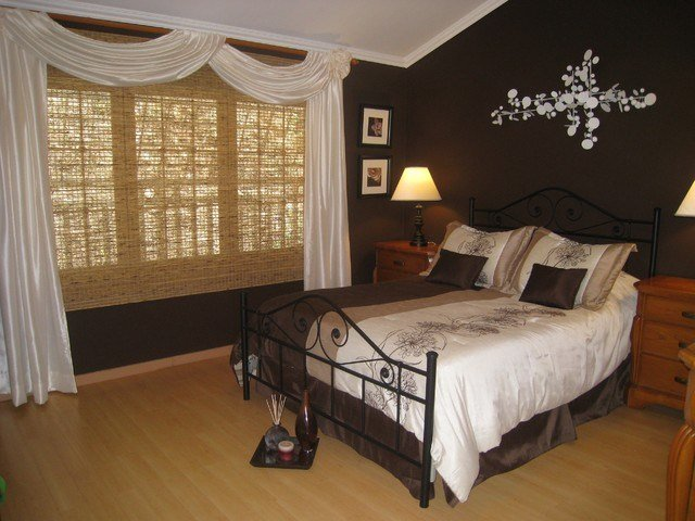 Best Chocolate Brown Master Bedroom Contemporary Other By With Pictures