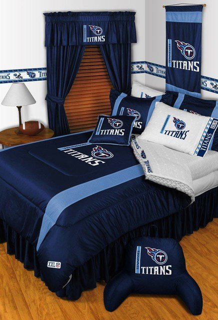 Best Nfl Tennessee Titans Bedding And Room Decorations Modern With Pictures