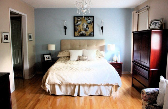 Best Bedroom With Accent Wall Contemporary Bedroom Toronto With Pictures