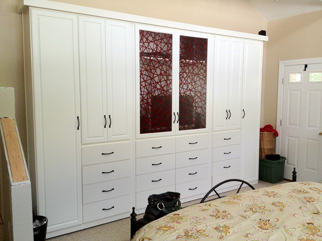 Best Spacious Custom Bedroom Armoire Wardrobes Contemporary With Pictures