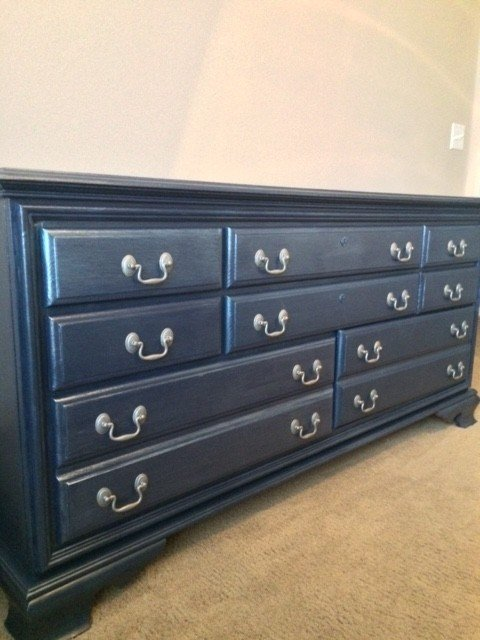 Best Painted Bedroom Furniture Navy Blue With Pictures