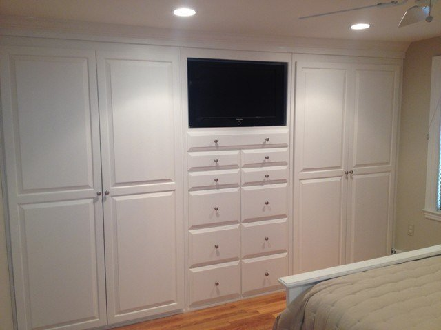 Best Built Ins Traditional Bedroom Boston By Brosseau With Pictures