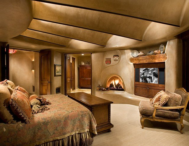 Best Organic Southwest Southwestern Bedroom Phoenix By With Pictures