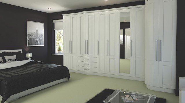Best Contemporary White Modular Bedroom Furniture System With Pictures