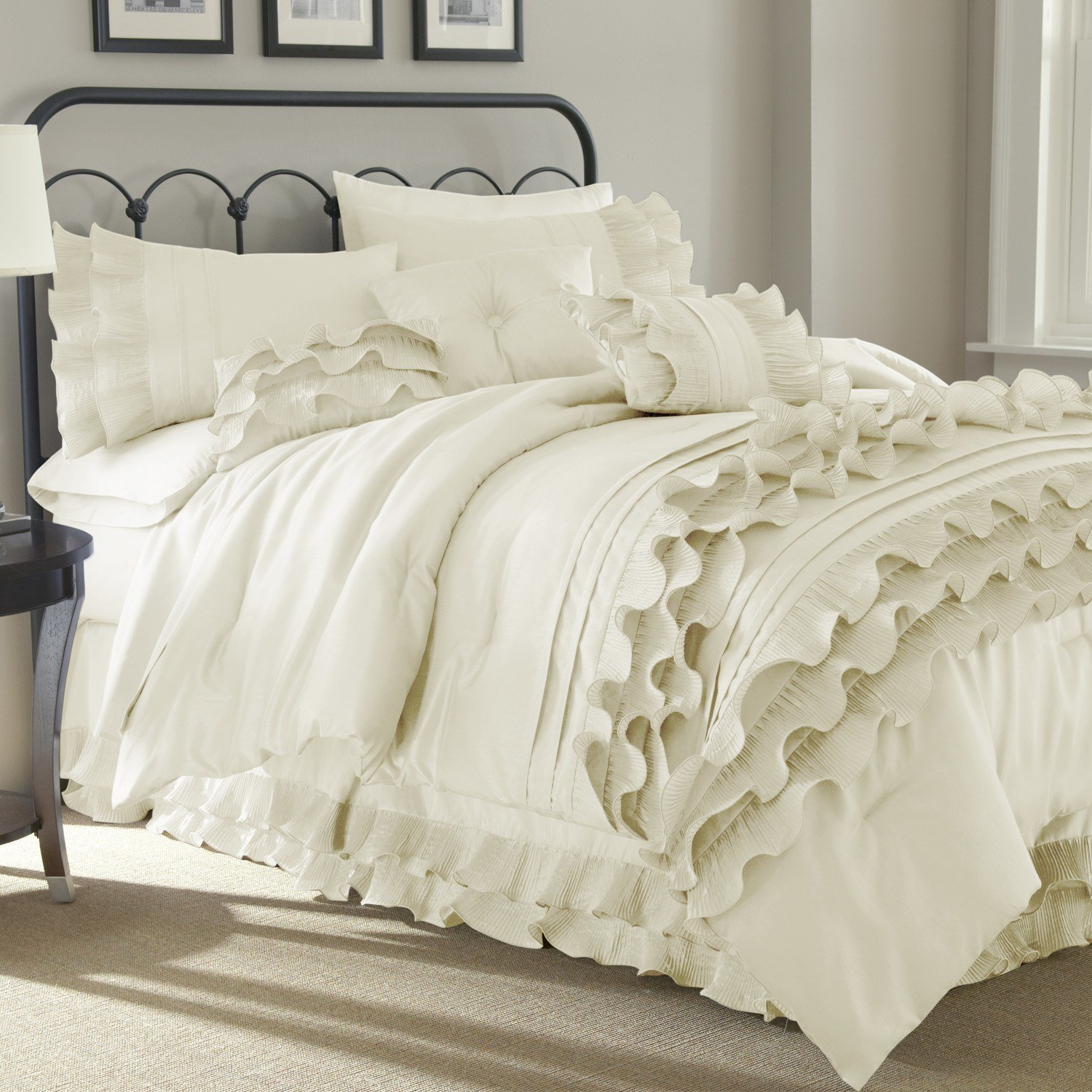 Best Colonial Textiles Anastacia 8 Piece Comforter Set With Pictures