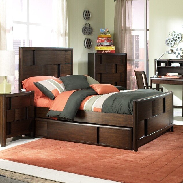 Best Magnussen Twilight Panel Customizable Bedroom Set With Pictures