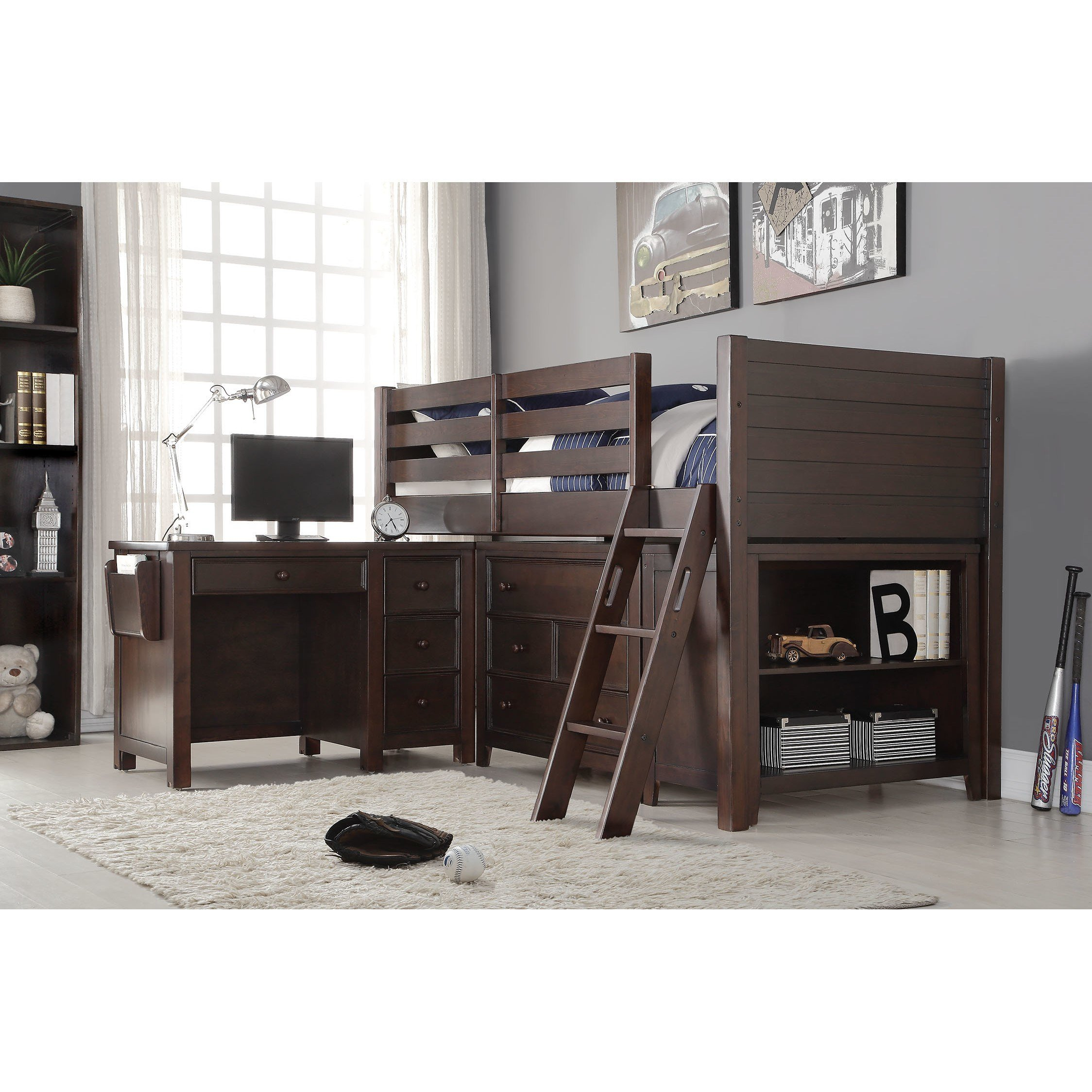 Best Acme Furniture Lacey Loft 2 Piece Bedroom Set Wayfair With Pictures