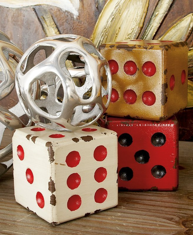 Best Mercury Row Dice Decor Sculpture Reviews Wayfair With Pictures