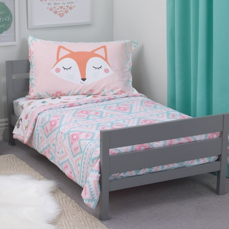 Best Carter S Aztec Girl 4 Piece Toddler Bedding Set Reviews With Pictures