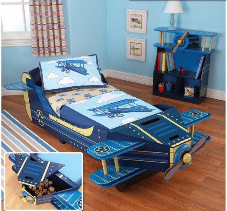 Best Airplane Toddler Bed Kids Airplane Décor Kids Furniture With Pictures