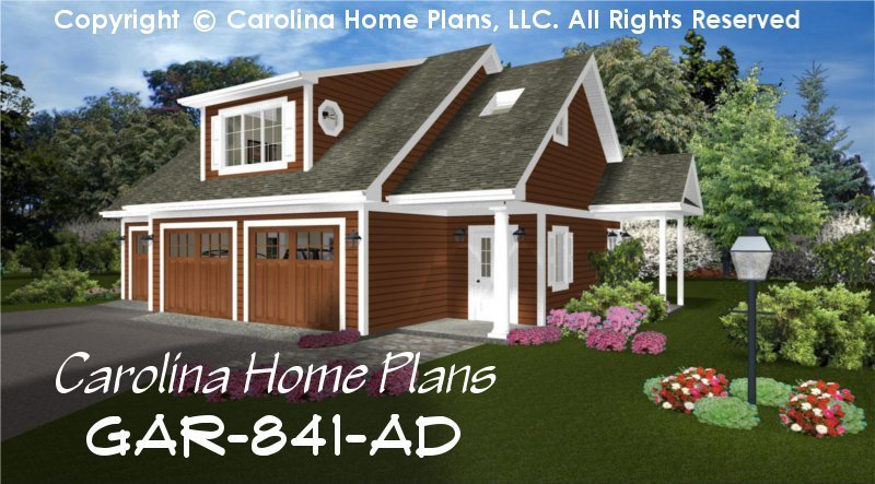 Best Low Cost Garage Apartment Plan Gar 841 Ad Sq Ft Small With Pictures