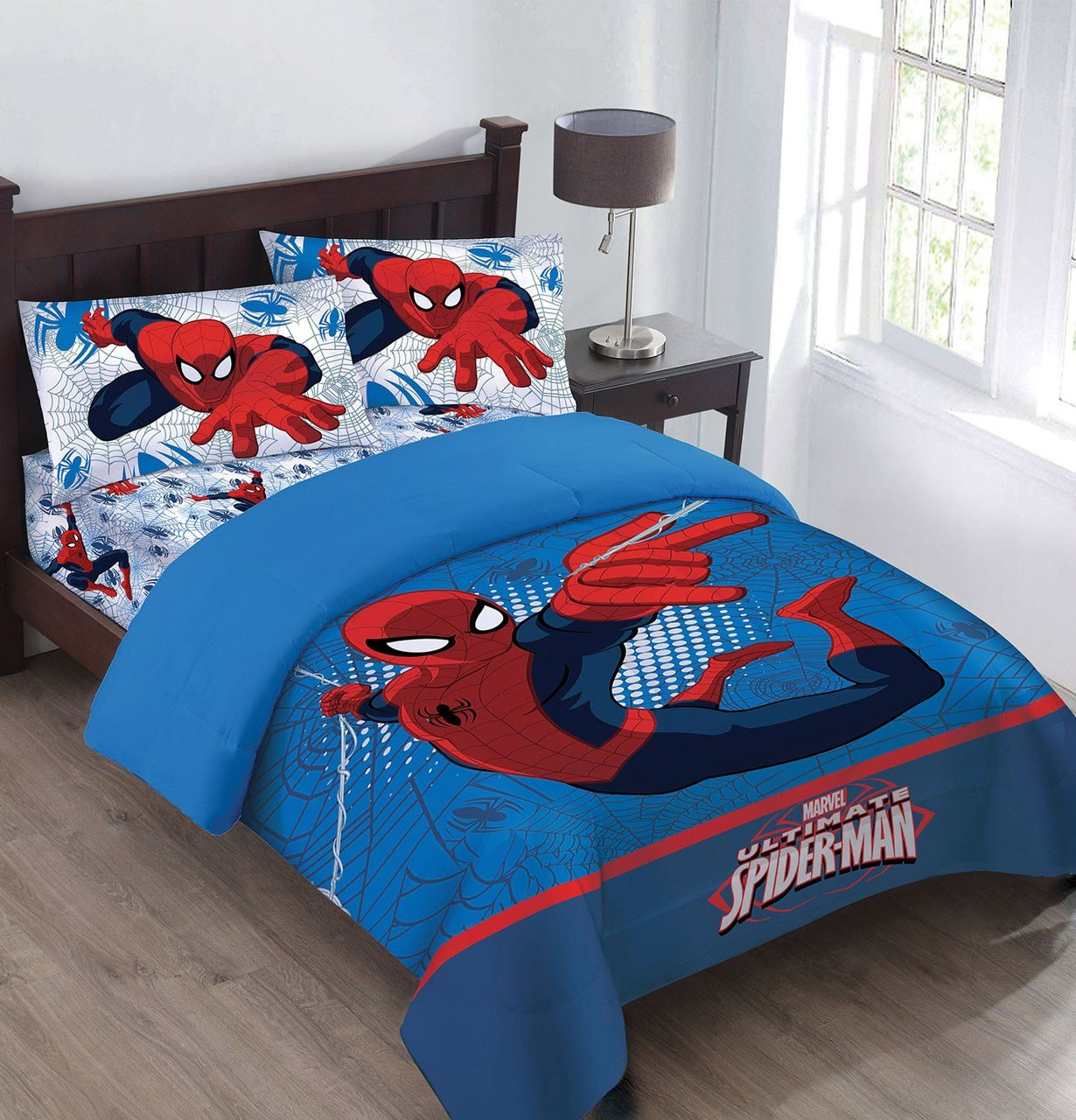 Best Marvel The Spiderman Webbed Wonder Comforter Set With With Pictures