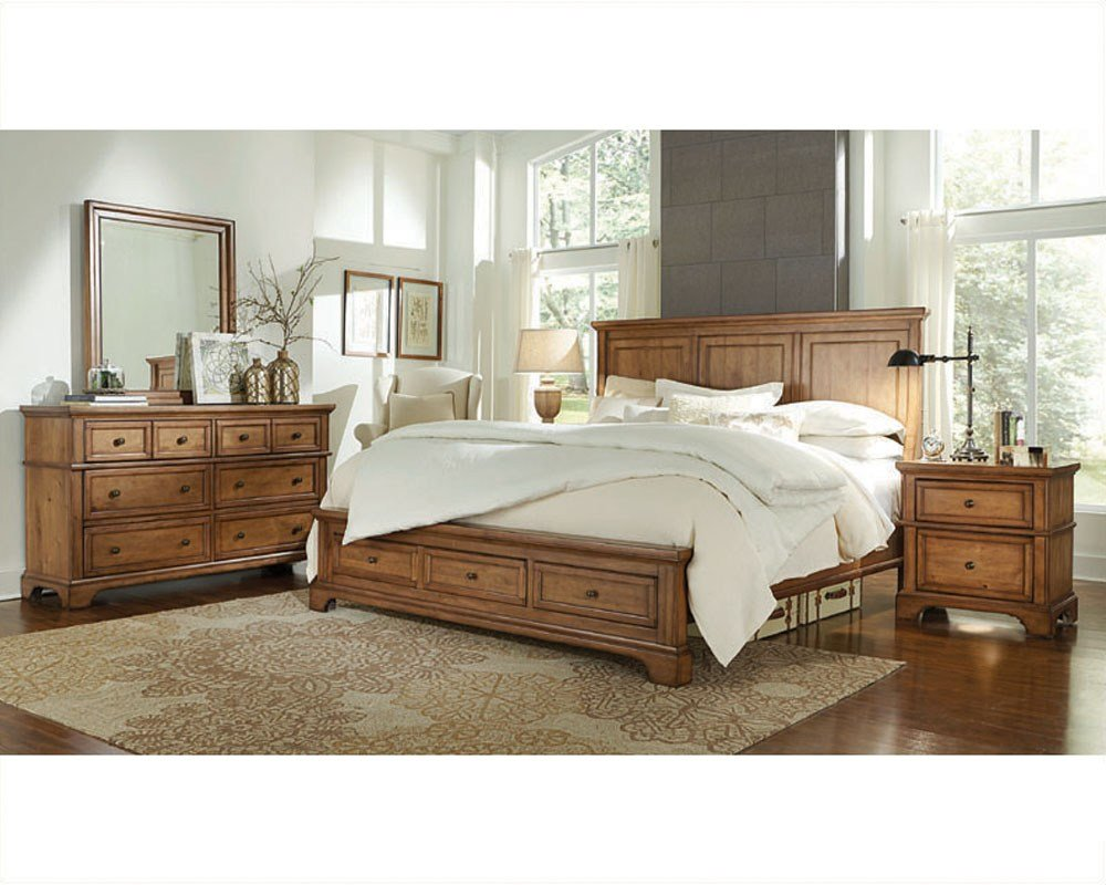 Best Aspenhome Bedroom W Panel Bed Alder Creek Asi09 400Set With Pictures
