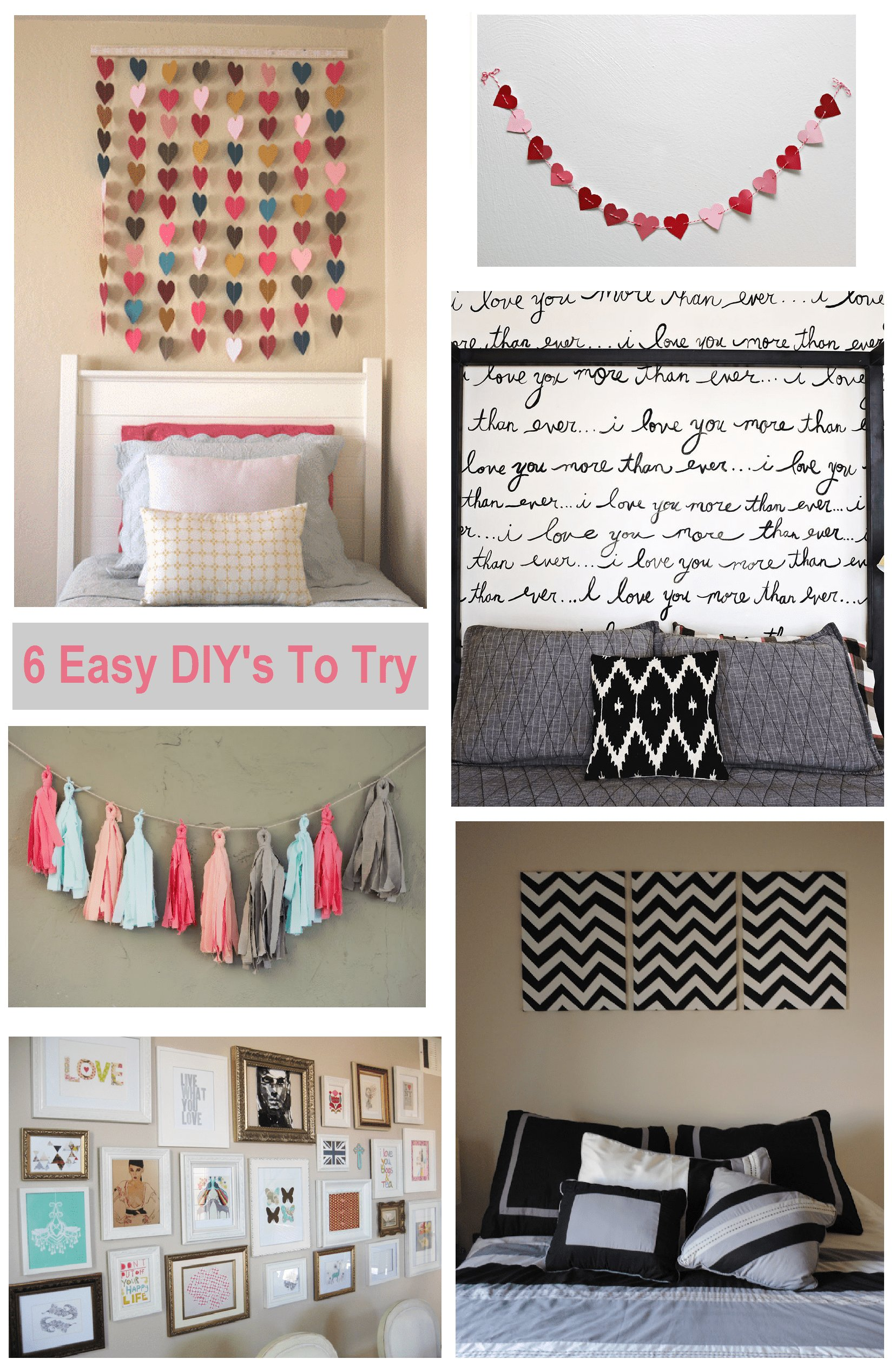 Best 6 Diy Bedroom Wall Art Ideas Shopgirl With Pictures