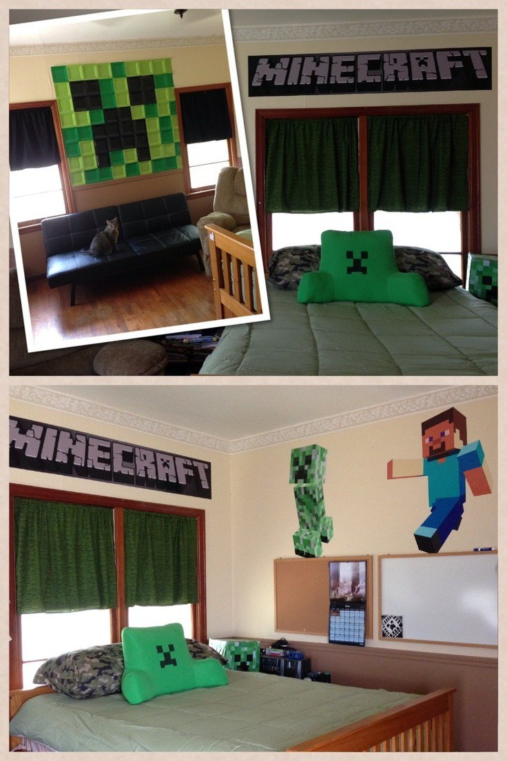 Best Amazing Minecraft Bedroom Decor Ideas Moms Approved With Pictures