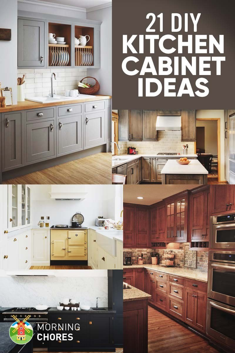 Best 21 Diy Kitchen Cabinets Ideas Plans That Are Easy With Pictures