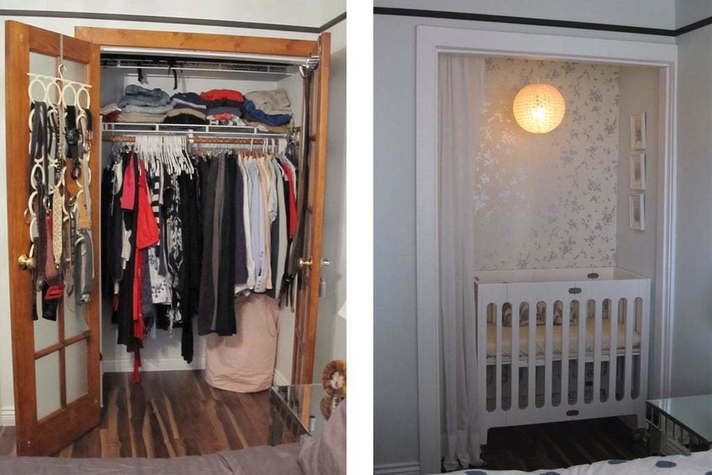 Best How To Convert A Closet Into A Baby Nursery Popsugar Home With Pictures