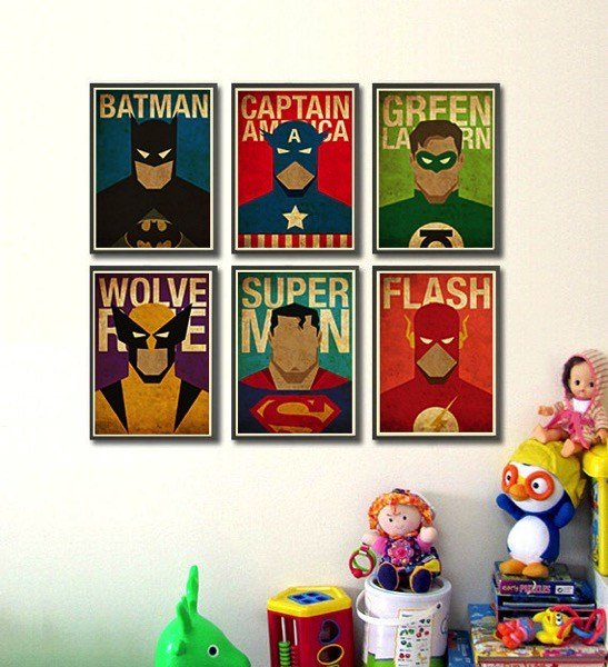 Best Superheroes Posters For A Little Boy Room – Note From A With Pictures