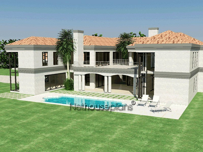 Best 5 Bedroom Double Storey House Plan With Photos With Pictures