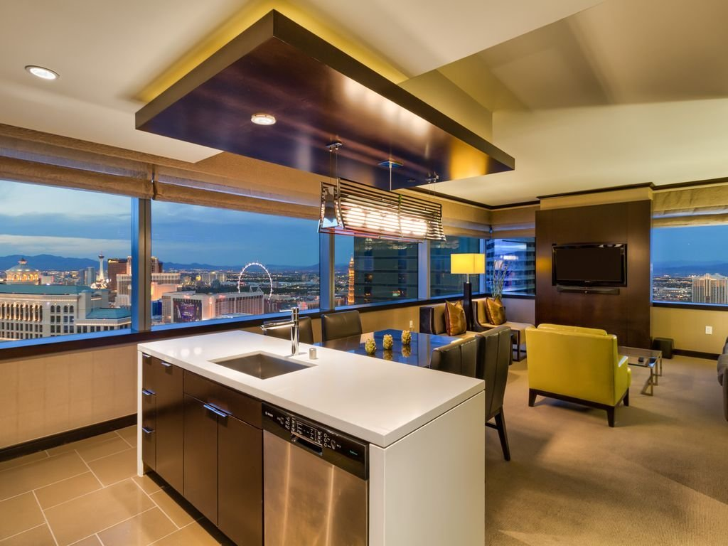 Best Big 2 Br Vdara Corner P*Nth**S* Stunner Bellagio Fountain With Pictures