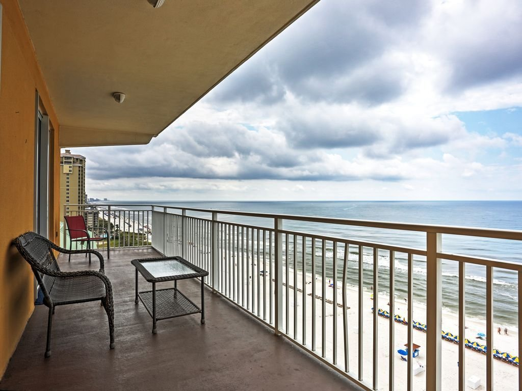 Best New 3Br Gulf Front Panama City Beach Condo Panama City With Pictures