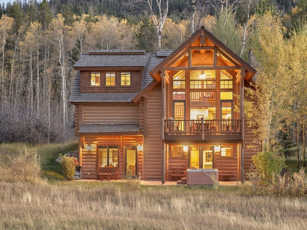 Best 4 Bedroom Log Cabin Close To Jackson Hole Victor Eastern With Pictures