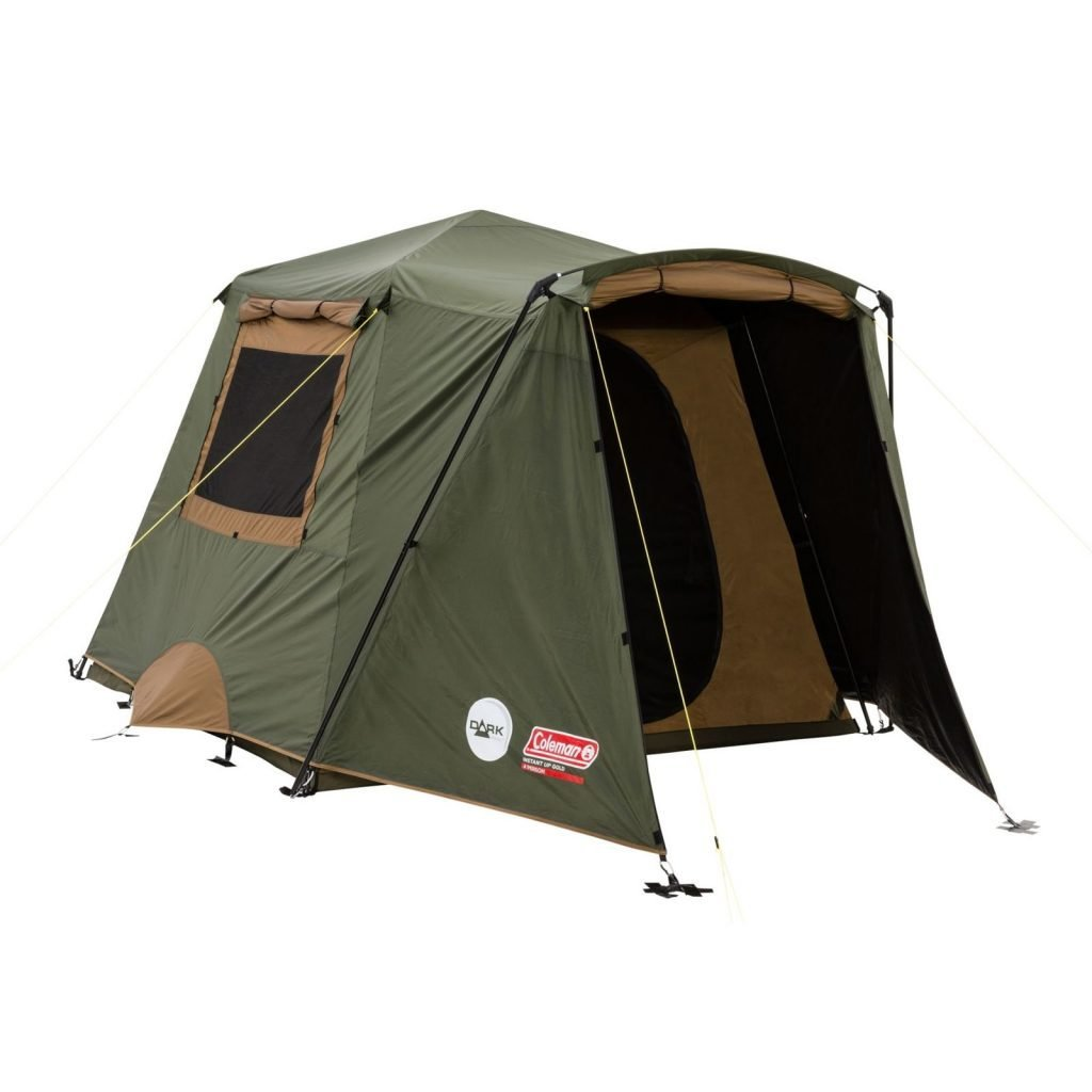 Best Coleman Instant Up Gold Darkroom Tent 4 Person — Outback With Pictures