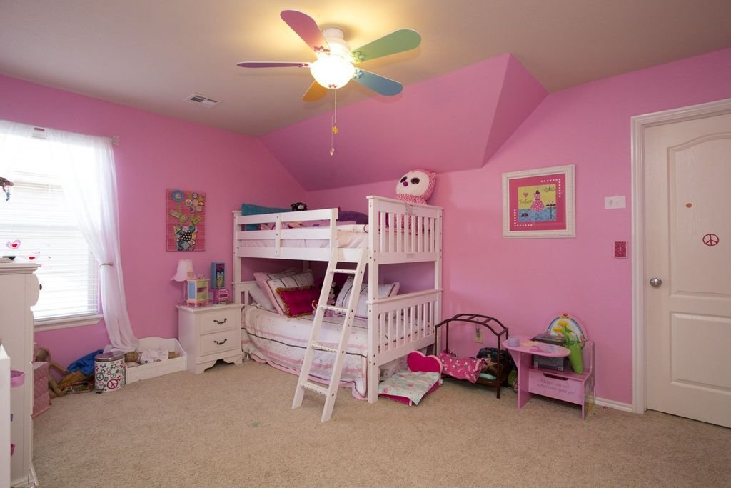 Best Traditional Kids Bedroom With Ceiling Fan Specialty Door With Pictures