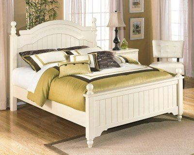 Best Cottage Retreat Queen Poster Bed Ashley Furniture Homestore With Pictures