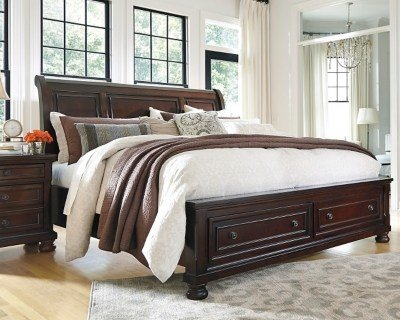 Best Porter King Sleigh Bed Ashley Furniture Homestore With Pictures