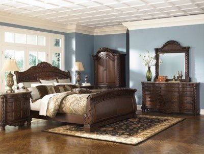 Best North Shore Queen Sleigh Bed Ashley Furniture Homestore With Pictures