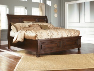 Best Porter Queen Sleigh Bed Ashley Furniture Homestore With Pictures