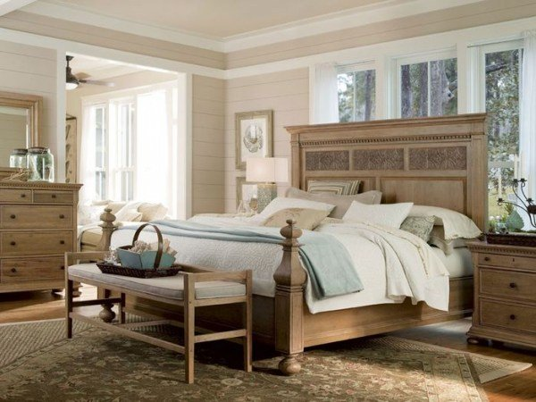 Best Comfy Country Bedroom Design Ideas – Adorable Home With Pictures