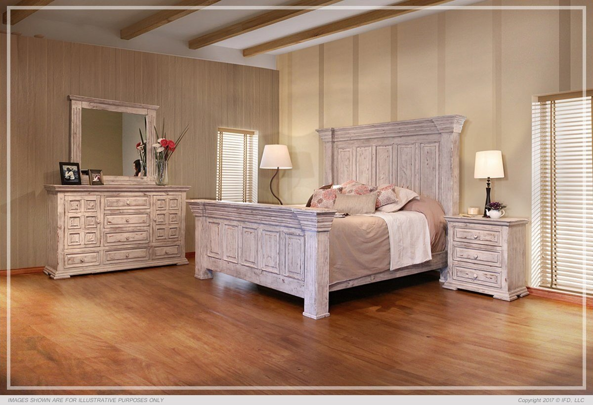 Best Terra White Bedroom Set All American Furniture Buy 4 With Pictures