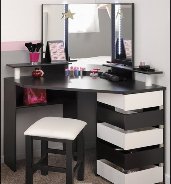 Best 15 Elegant Corner Dressing Table Design Ideas For Small Bedrooms With Pictures