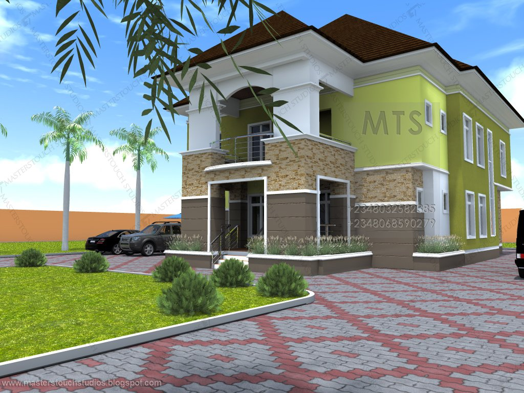 Best Mrs Udeeme 5 Bedroom Duplex Modern And Contemporary With Pictures