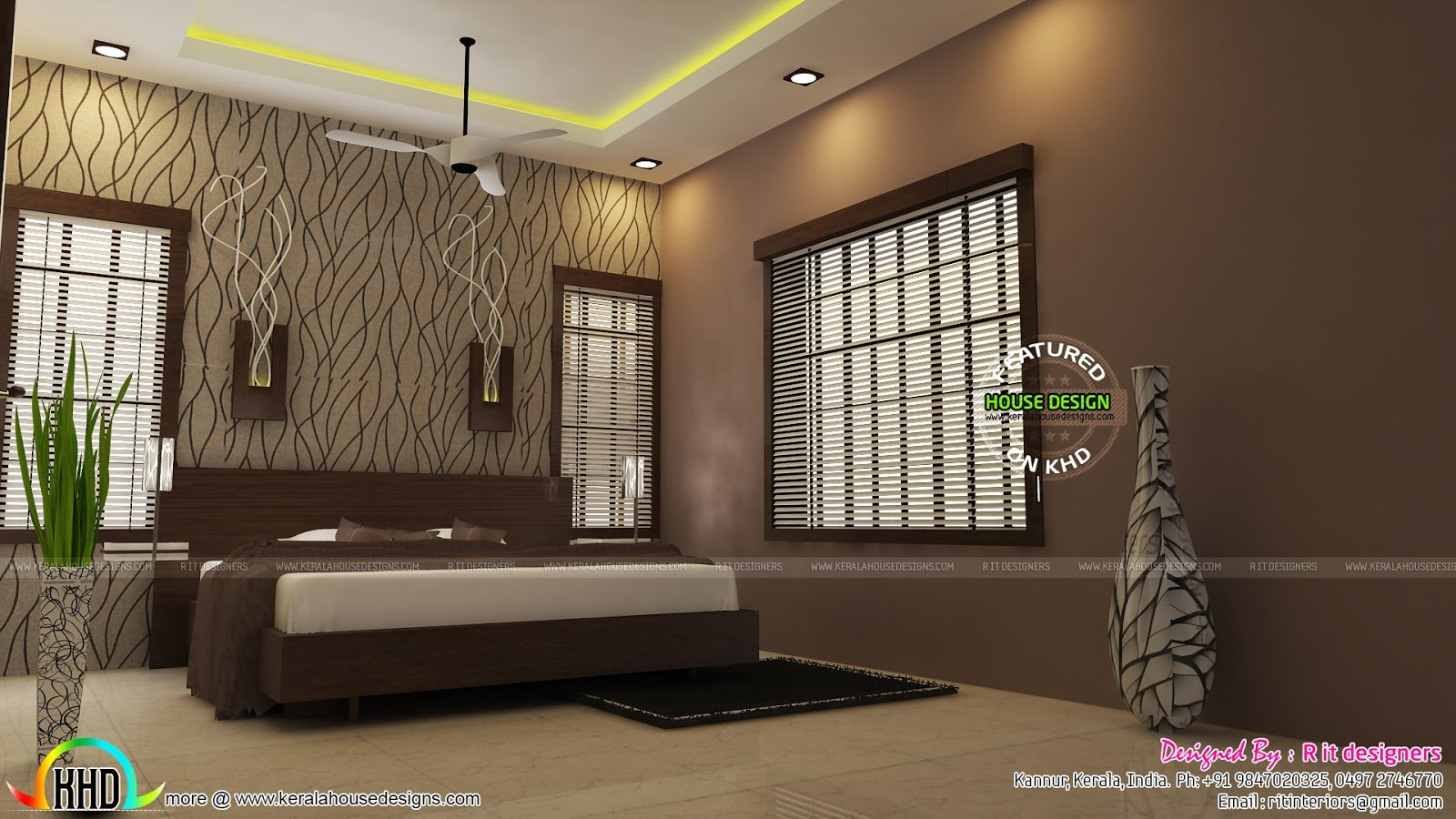 Best Modular Kitchen Living And Bedroom Interior Kerala Home With Pictures