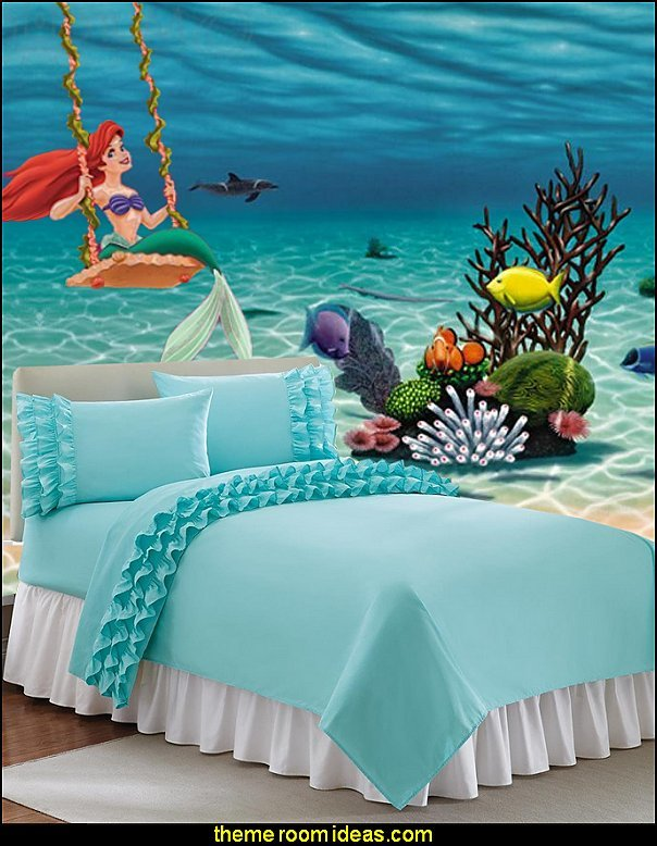 Best Decorating Theme Bedrooms Maries Manor Little Mermaid With Pictures