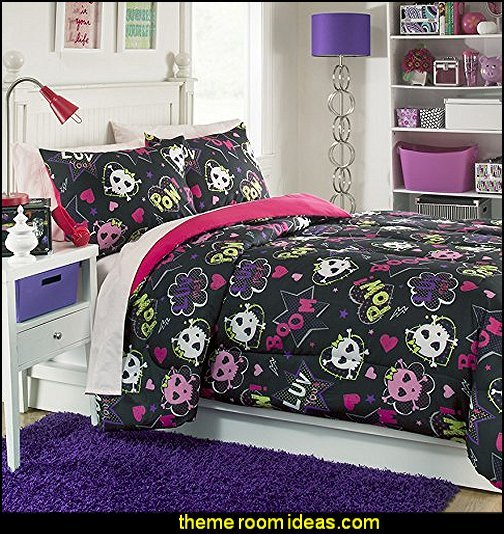 Best Decorating Theme Bedrooms Maries Manor Skull Bedding With Pictures