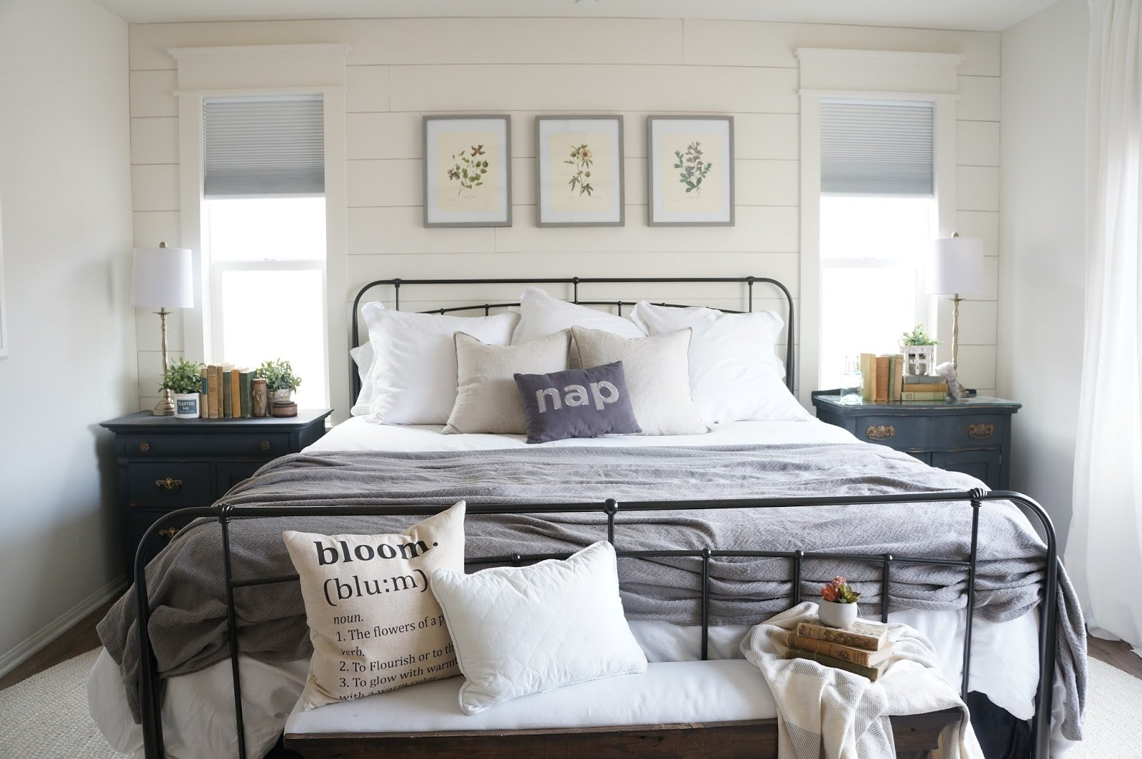 Best Neutral Cottage Master Bedroom With Pictures