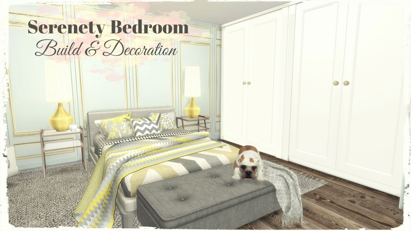Best Sims 4 Serenety Bedroom Build Decoration For Download Cc Links Dinha With Pictures