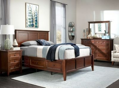 Best Westlake 4 Pc King Platform Bedroom Set W Storage Bed With Pictures