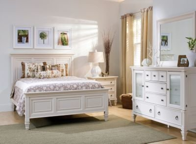 Best Somerset 4 Pc King Bedroom Set Alabaster Raymour Flanigan With Pictures