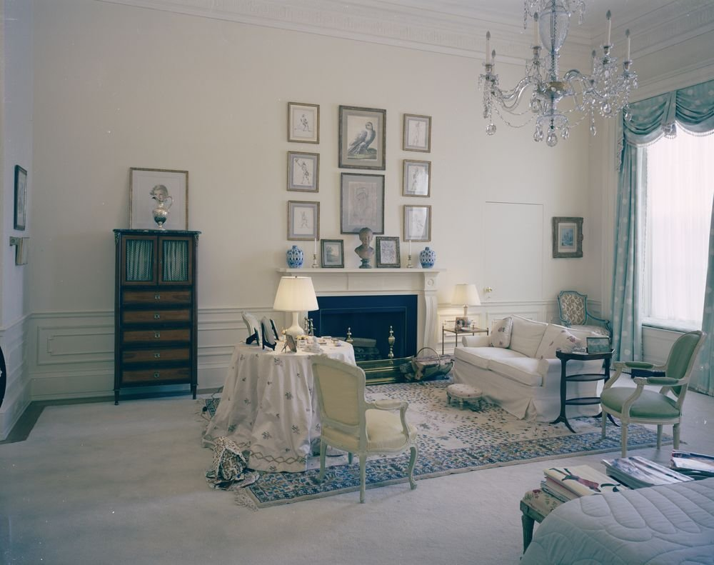Best Kn C21501 First Lady Jacqueline Kennedy's Bedroom White With Pictures
