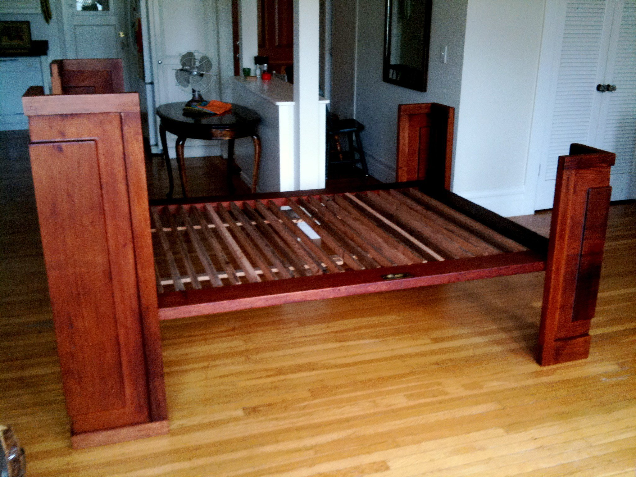 Best Salvaged Redwood Bed Reason Furniture Design With Pictures