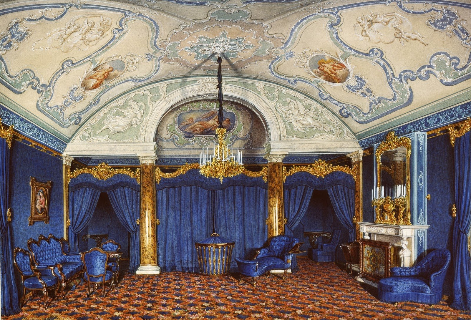 Best Winter Palace Research Furniture In The Winter Palace With Pictures