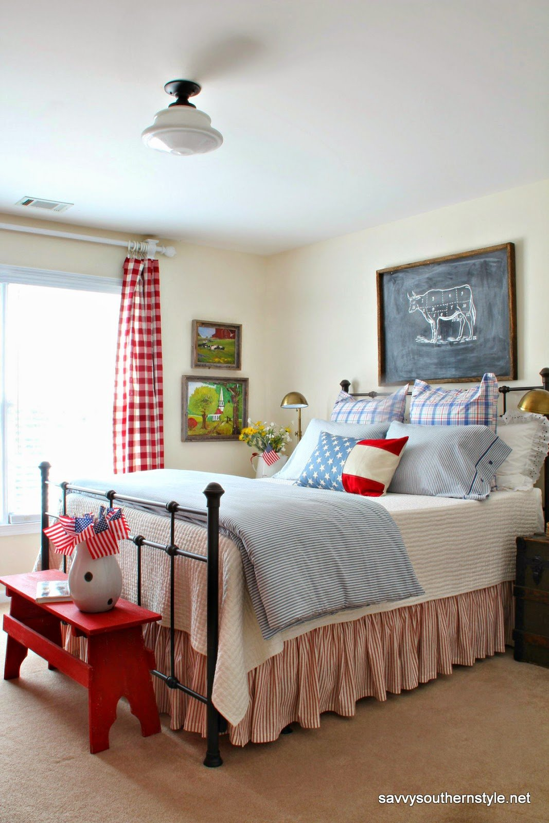 Best Savvy Southern Style Remembering Red White And Blue With Pictures