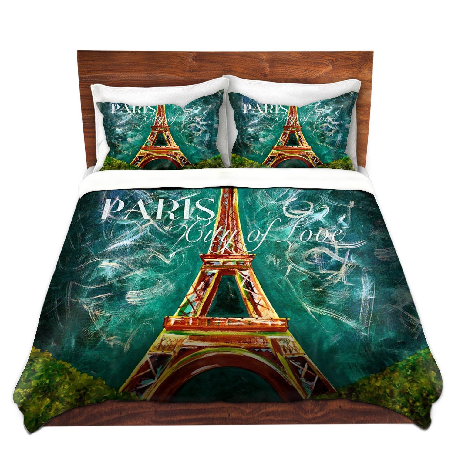 Best Paris Eiffel Tower Themed Bedding For Less With Pictures